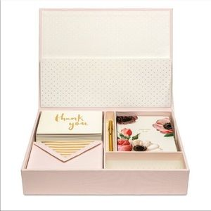 Kate Spade | Blush Pink Thank You Card Box